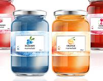 Marmelade Labels