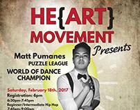 Hip Hop Dance Class Promotional Poster
