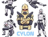Fresco: Cylon