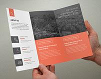 Minimal Multipurpose Trifold Brochure