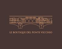 Le Boutique del Ponte Vecchio_ Logo design.