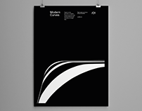 Modern Curves Poster Series