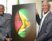 President Granger Receives Face Of Guyana