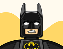 Lego Batman Illustrations