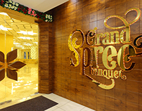Grand Spree Banquet - Interior, naming and branding