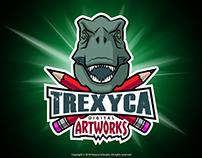 Trexyca Artworks Mascot Logo