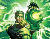 Green Lantern Covers