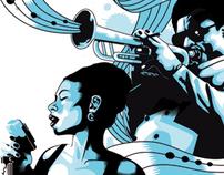 All That Jazz! -Vector Illustration by Aleix Gordo