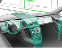 Waterfall Automotive Interior Dashboard