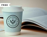 FREE | Coffee Cup Mockup