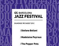 BCN Jazz Festival'12
