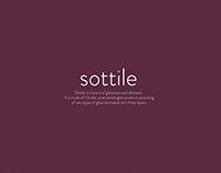 Sottile- Branding