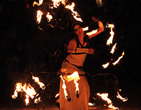 Agni Lumen - Espetáculo de fogo