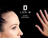 Liza jewelry brochure