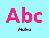 Malva Typeface