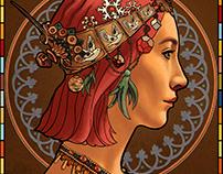 Lady Bird Illustration