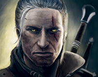 The Witcher's Face