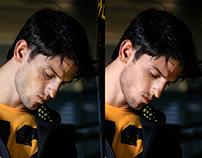 Antes e depois - Pretorian Portrait