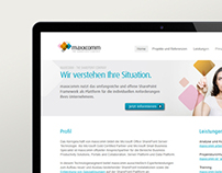 maxxcomm technology - web design