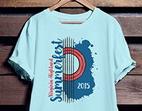 Virginia Highlands Summerfest Shirt Design