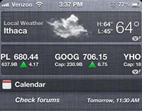 HFS 2: iPhone Widgets