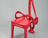 Dr. Phillips Performing Arts Center Red Chair 2011