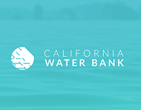 California Water Bank Branding
