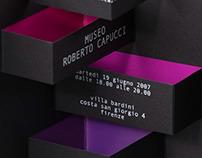 Museo Roberto Capucci – opening invitation