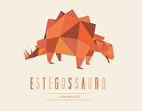 Dinossauros em Poligonos | Polygons Dinosaurs