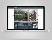 "Technogym: ""Return on Life"" Microsite"