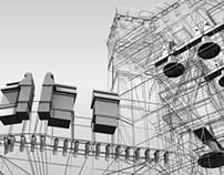The KTConvent deconstruction (3d modeling)