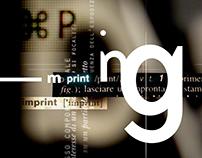 imprinting // poster