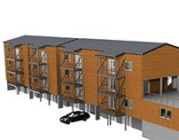 Résidence  de 12 logements à Saint Claude