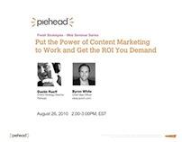 Webinar: Piehead & ideaLaunch