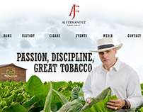 AJ Fernandez Cigar Website