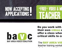 BAVC: Teacher Training Workshop
