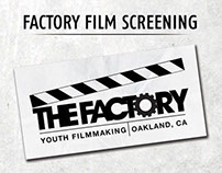 The Factory Year 8 Film Screening Program and DVD
