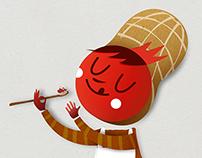 Manicio | Peanut character