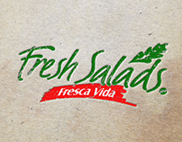 Fresh Salads Flyer