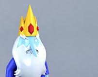LEGO Ice King minifig