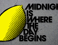 Midnight Is Where The Day Begins