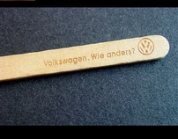 Volkswagen 'keep it cool' ice cream promotion