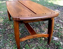 Neo-Craftsman Coffee Table
