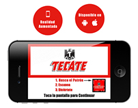Tecate Augmented Reality