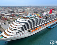 Drone Photography for Carnival Cruise Line