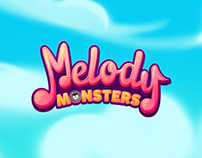 Melody Monsters - Backgrounds & Assets