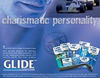 Glidemen-Magazine-ad Campaign