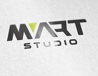 MART studio. Logo design
