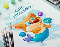 cute postcards