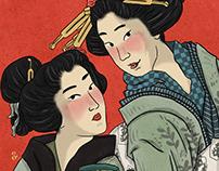 Ukiyo-e Poster Series